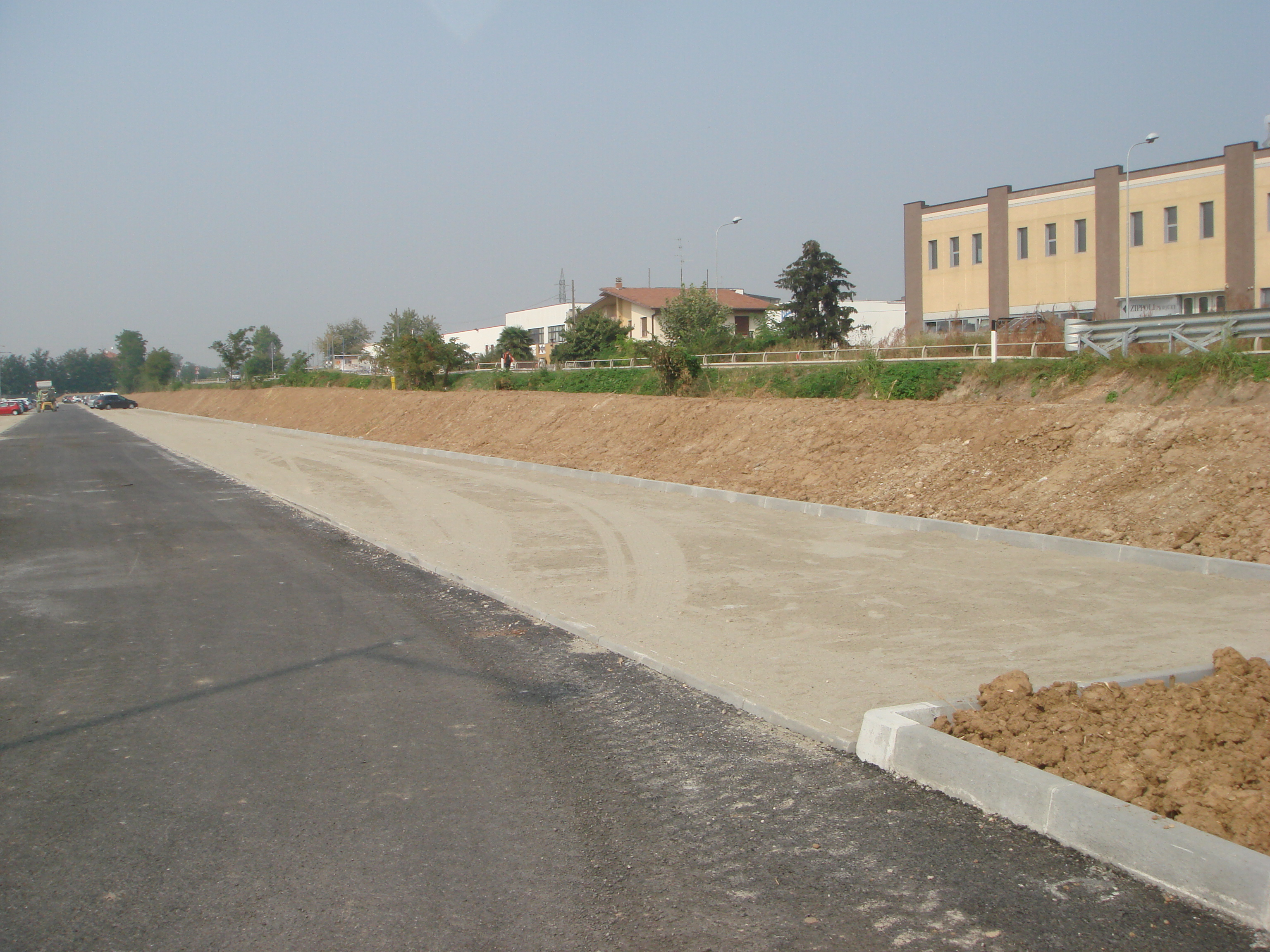 A inizio cantiere, Marzo 2011